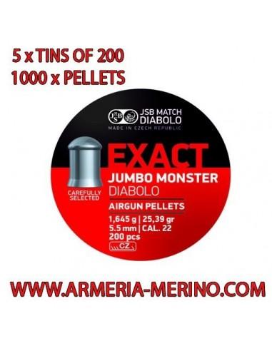 JSB Jumbo Exact  Monster C/5.52 x 1000 pcs