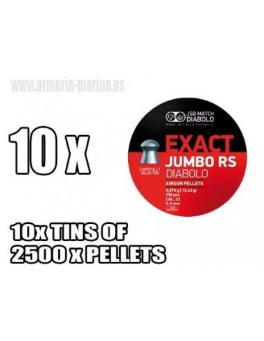 JSB Exact RS C/5.52 x 2500 Pcs