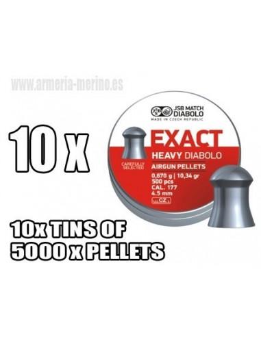 Jsb Exact Heavy C/4.52 x 5000  pcs