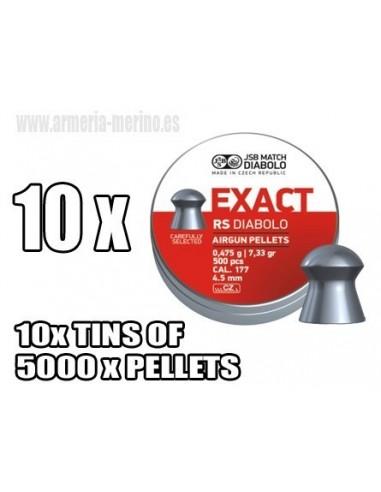 JSB Exact RS C/4.52 x 5000  pcs